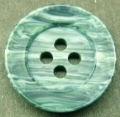 50 x 19mm Marble Green 4 Hole Buttons
