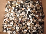 100 Assorted Mixed Buttons