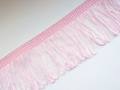 Charleston Dress Loop Tassel Fringe 2 Inch Pink