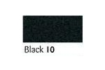 100 Metres Berisfords Double Satin Ribbon 10mm Black