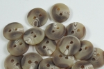 12mm Brown Aran Sewing Button