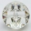 15mm Crystal Clear Sewing Button