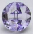 15mm Crystal Lilac Sewing Button