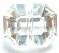 11mm Crystal Octagon Clear Sewing Button