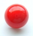 12mm Dome Shank Red Sewing Button