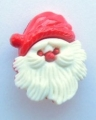 Novelty Button Farther Christmas Santa 18mm
