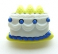 Novelty Button Cake Royal Blue 22mm