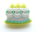 Novelty Button Cake Mint 22mm