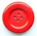 31mm Large 4 Hole Sewing Button Red