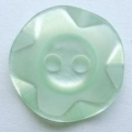 100 x 14mm Winegum Light Green Sewing Buttons