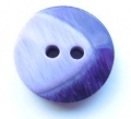 20mm Chunky Two Tone Purple Sewing Button
