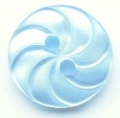 13mm Swirl Light Blue Sewing Button