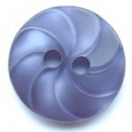 13mm Swirl Navy Blue Sewing Button