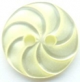 13mm Swirl Lemon Sewing Button
