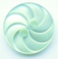 13mm Swirl Light Green Sewing Button