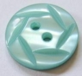 15mm Hexagon Top Jade Sewing Button