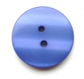 19mm Shadow Stripe Royal Blue Sewing Button