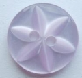 100 x 14mm Star Center Lilac Sewing Buttons