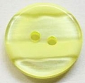 17mm Stripe Lemon Sewing Button
