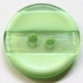 17mm Stripe Light Green Sewing Button