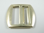 Waistcoat Buckle Slider Fasteners 22mm Gold Metal