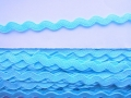 10mm Light Blue Ric Rac Ribbon
