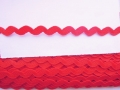 10mm Red Ric Rac Ribbon
