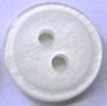 11mm Ivory White Shirt Sewing Button