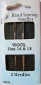 Wool Sewing Needles Size 14-18