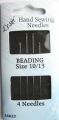 Beading Sewing Needles Size 10-13