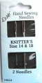 Knitters Sewing Needles Size 14 and 18