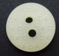 13mm ABC Cream Sewing Buttons