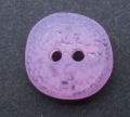 50 x 11mm Odd Shape Purple Sewing Buttons