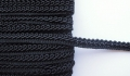 8mm French Gimped Braid Trimming Black