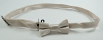 Adjustable Bow Tie In Cream