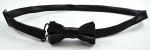 Adjustable Bow Tie In Black