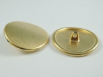 28mm Metal Button Blazer Curved Gold