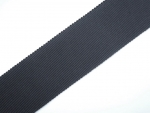 25 Metres Grosgrain Ribbon 25mm Black