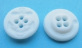 15mm Round White Anchor 4 Hole Sewing Button