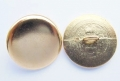 13mm Metal Button Blazer Gold