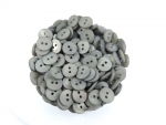 47 x 15mm Black Aran 4 Hole Sewing Buttons