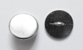 15mm Metal Button Blazer Silver