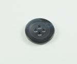 16mm Aran Navy Blue Sewing Button 4 Hole