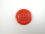 26mm Large 4 Hole Sewing Button Fire Engine Red