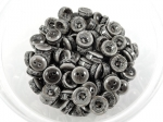 11mm Marble Grey Chunky 4 Hole Sewing Button