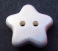 Novelty Button Star Pale Pink 11mm