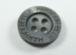 12mm BLUE HARBOUR Black Sewing Buttons 4 Hole