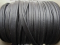 Leather Look Piping Cord 4mm Wide Black
