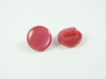 11mm Shank Cerise Pink Sewing Button