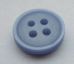 11mm Light Blue Sewing Button 4 Hole